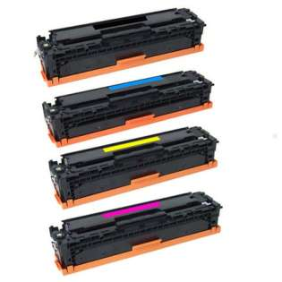 Compatible HP 410X toner cartridges - Pack of 4