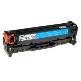 Compatible HP CF411X (410X) toner cartridge - high capacity yield cyan