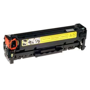 Compatible HP CF412X (410X) toner cartridge - high capacity yield yellow