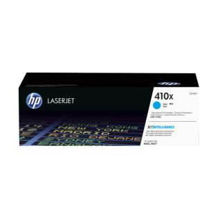 Original HP CF411X (410X) toner cartridge - high capacity yield cyan
