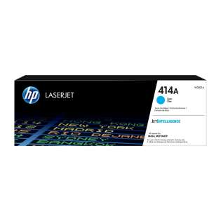 Original HP W2021A (414A) toner cartridge - cyan