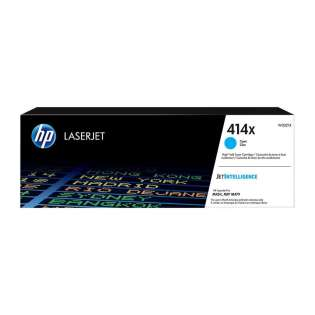 Original HP W2021X (414X) toner cartridge - high capacity cyan - now at 499inks