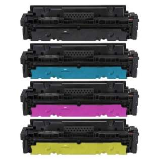 Compatible HP 414X toner cartridges - WITHOUT CHIP - 4-pack