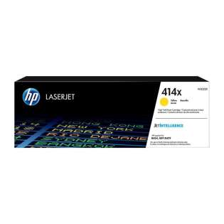 Original HP W2022X (414X) toner cartridge - high capacity yellow - now at 499inks