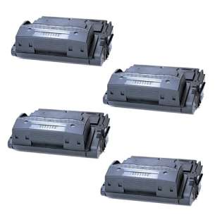 Compatible HP Q5942A (42A) toner cartridges - Pack of 4