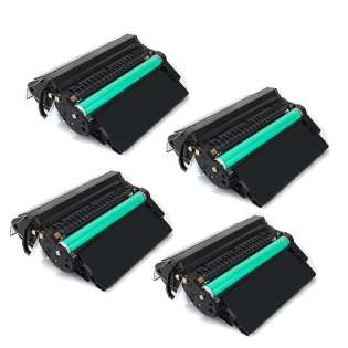 Compatible HP Q5942X (42X) toner cartridges - JUMBO capacity (EXTRA high capacity yield) - Pack of 4