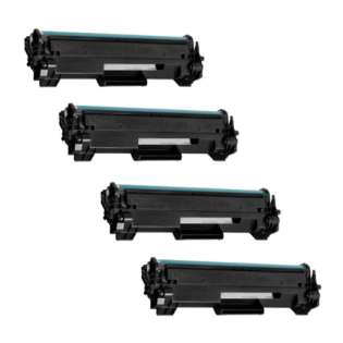 Replacement Compatible HP CF248A (48A) toner cartridges - 4-pack