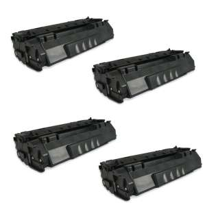 Compatible HP Q5949A (49A) toner cartridges - Pack of 4
