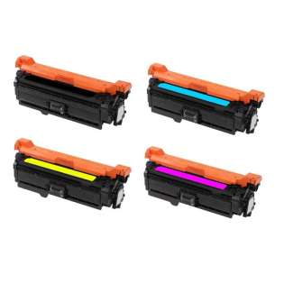 Compatible HP 507A toner cartridges - Pack of 4