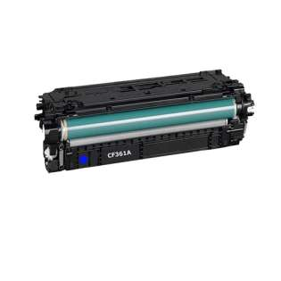 Compatible HP CF361A (508A) toner cartridge - cyan
