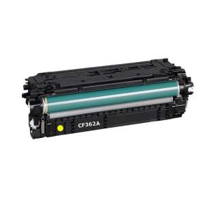 Compatible HP CF362A (508A) toner cartridge - yellow