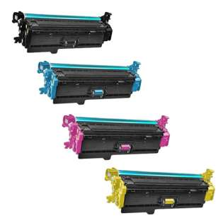 Compatible HP 508X toner cartridges - (pack of 4)