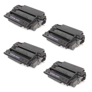 Compatible HP Q7551X (51X) toner cartridges - Pack of 4