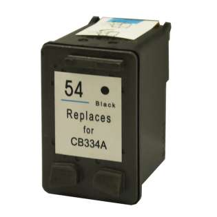 Remanufactured HP 54, CB334AN ink cartridge, black