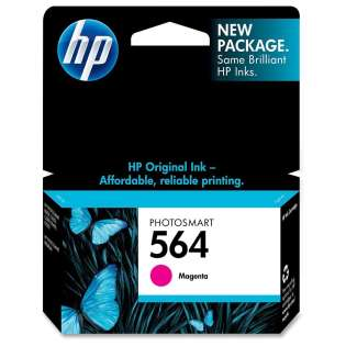 HP 564, CB319WN Genuine Original (OEM) ink cartridge, magenta, 300 pages