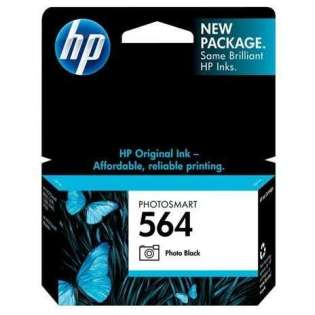 HP 564, CB317WN Genuine Original (OEM) ink cartridge, photo black, 130 pages