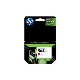 HP 564XL, CB324WN Genuine Original (OEM) ink cartridge, high capacity yield, magenta