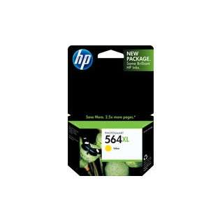 HP 564XL, CB325WN Genuine Original (OEM) ink cartridge, high capacity yield, yellow