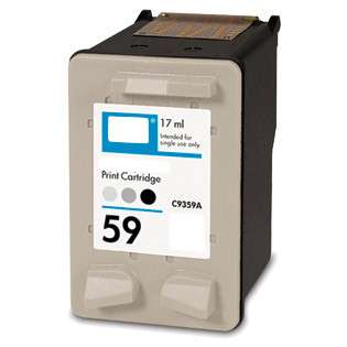 Remanufactured HP 59, C9359AN ink cartridge, gray photo