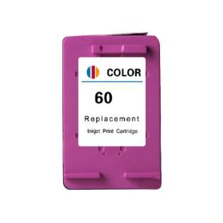 Remanufactured HP 60, CC643WN ink cartridge, tri-color