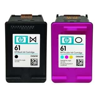 HP 61, CR259FN Genuine Original (OEM) ink cartridges (pack of 2)