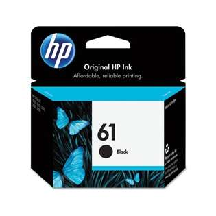 HP 61, CH561WN Genuine Original (OEM) ink cartridge, black
