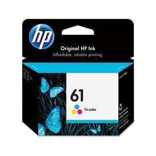 HP 61, CH562WN Genuine Original (OEM) ink cartridge, tri-color