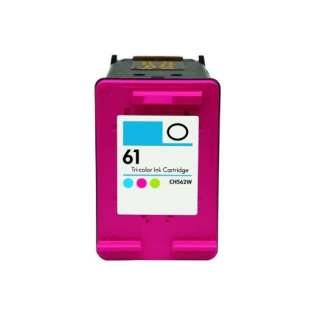Remanufactured HP 61, CH562WN ink cartridge, tri-color