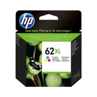 OEM (genuine original) HP C2P07AN (HP 62XL) ink cartridge - high capacity color