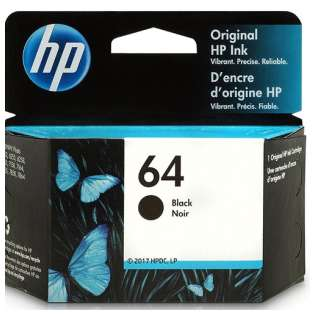 Original HP N9J90AN (HP 64) inkjet cartridge - black