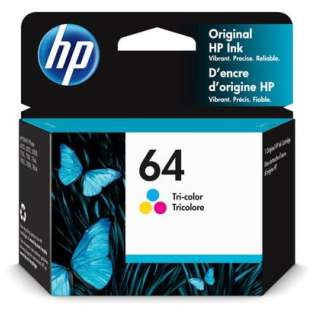 Original HP N9J89AN (HP 64) inkjet cartridge - color