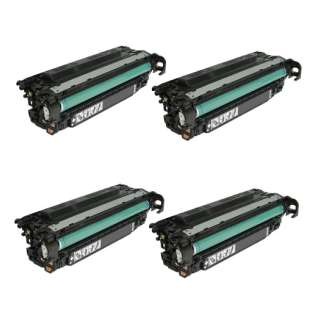 Compatible HP CE260X (649X) toner cartridges - (pack of 4)