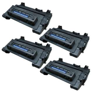 Compatible HP CC364A (64A) toner cartridges - Pack of 4