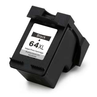 Remanufactured HP N9J92AN (HP 64XL) print ink cartridge - black