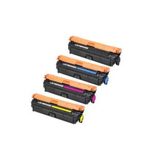 Compatible HP 651A toner cartridges - (pack of 4)