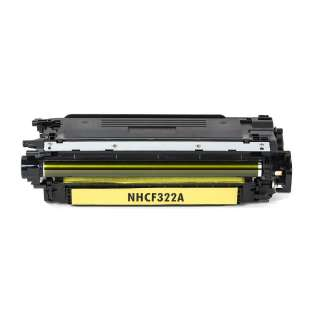 Compatible HP 653A Yellow, CF322A toner cartridge, 16500 pages, yellow