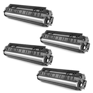 Replacement Compatible HP 655A toner cartridges - 4-pack