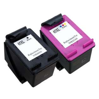 Remanufactured ink cartridges Multipack for HP 65XL - 2 pack