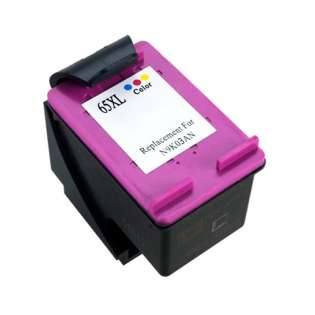 Remanufactured HP N9K03AN (HP 65XL) ink cartridge - high capacity color