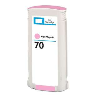 Remanufactured HP 70, C9455A ink cartridge, light magenta