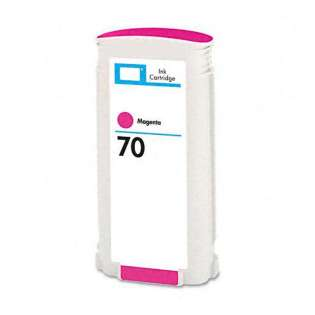 Remanufactured HP 70, C9453A ink cartridge, magenta
