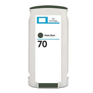 Remanufactured HP 70, C9448A ink cartridge, matte black