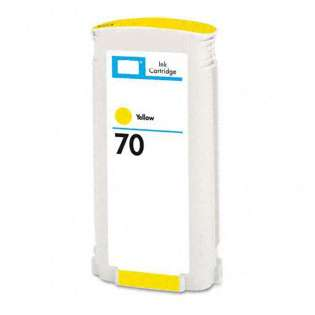 Remanufactured HP 70, C9454A ink cartridge, yellow