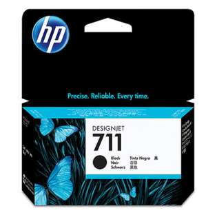 HP 711, CZ129A Genuine Original (OEM) ink cartridge, black