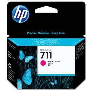 HP 711, CZ131A Genuine Original (OEM) ink cartridge, magenta