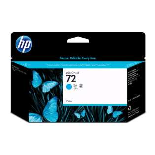 HP 72XL, C9371A Genuine Original (OEM) ink cartridge, high capacity yield, cyan