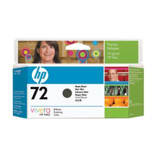 HP 72XL, C9403A Genuine Original (OEM) ink cartridge, high capacity yield, matte black
