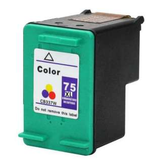 Remanufactured HP CB338WN / 75XL ink cartridge - color