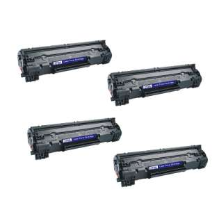 Compatible HP CE278A (78A) toner cartridges - JUMBO capacity (EXTRA high capacity yield) - Pack of 4