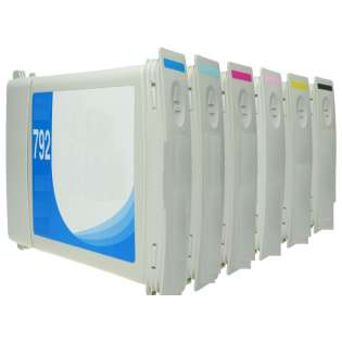 Remanufactured Multipack for HP 792 - 6 pack